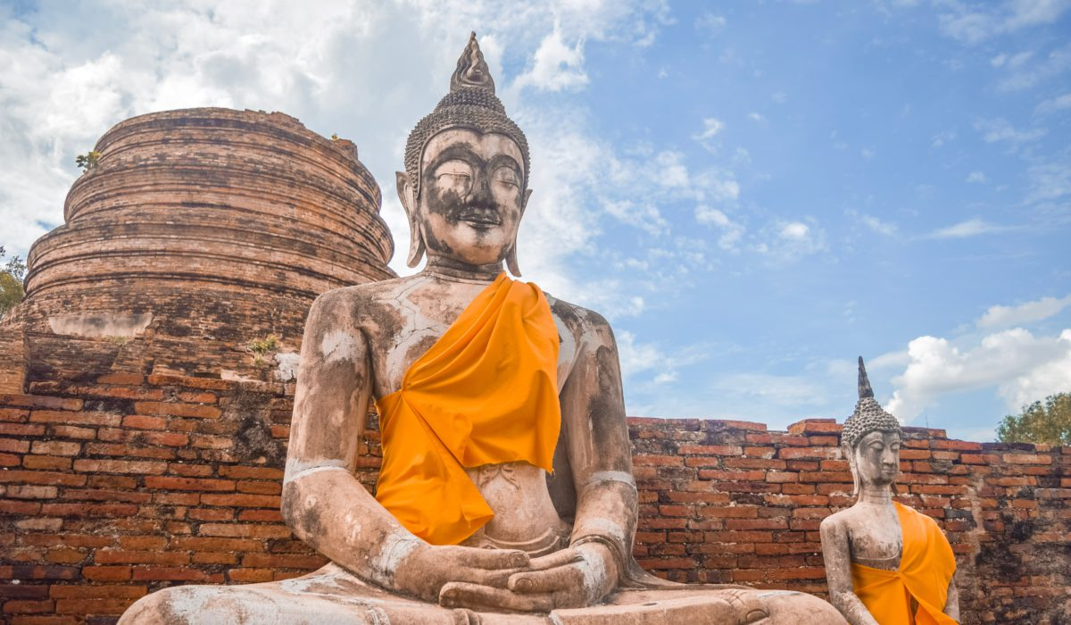 Ayutthaya Buddhist sculptures