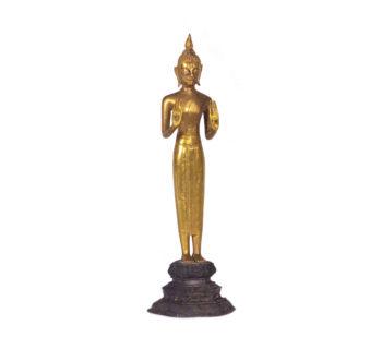 Gold Buddhist sculptures