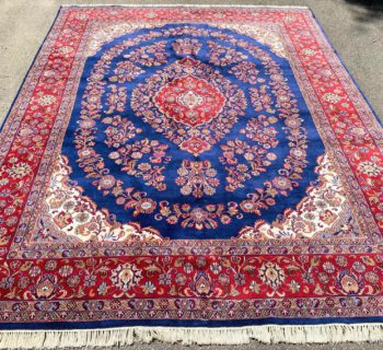 TABRIZ HAND KNOTTED RUG – 8.10 x 11.11