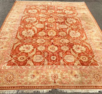 AGRA HAND KNOTTED RUG – 9.1 x 12.0