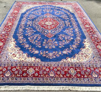 PERSIAN TABRIZ HAND KNOTTED RUG – 9.11 x 14.5
