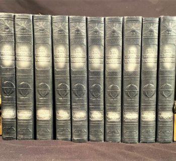 NEW STANDARD ENCYCLOPEDIA – 10 VOLUMES - 1931