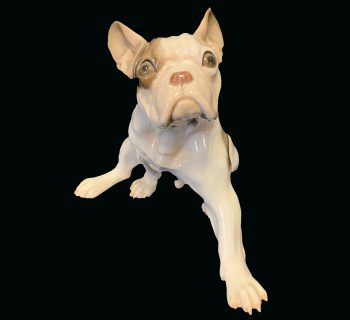 Bing and Grondahl Porcelain French Bulldog Figurine #2000
