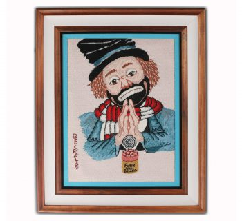"""Red Skelton's """"Pork and Beans"""" Limited Edition Tapestry"""