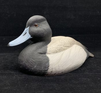 "S. Hill's ""Lesser Scaup Drake"" Duck Decoy"
