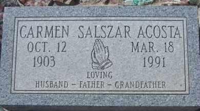 ACOSTA, CARMEN SALSZAR - Apache County, Arizona | CARMEN SALSZAR ACOSTA - Arizona Gravestone Photos