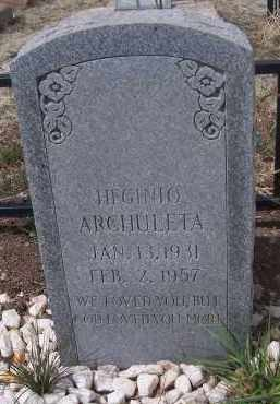 ARCHULETA, HEGINIO - Apache County, Arizona | HEGINIO ARCHULETA - Arizona Gravestone Photos
