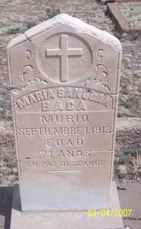 SAN JUAN BACA, MARIA - Apache County, Arizona   MARIA SAN JUAN BACA - Arizona Gravestone Photos
