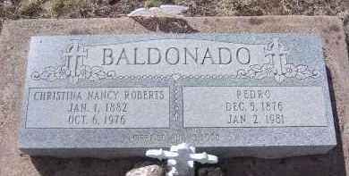 BALDONADO, CHRISTINA NANCY - Apache County, Arizona   CHRISTINA NANCY BALDONADO - Arizona Gravestone Photos