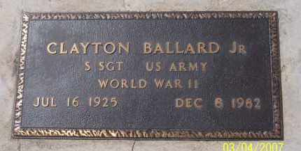 BALLARD, CLAYTON JR - Apache County, Arizona | CLAYTON JR BALLARD - Arizona Gravestone Photos