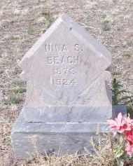 BEACH, NINA S. - Apache County, Arizona | NINA S. BEACH - Arizona Gravestone Photos