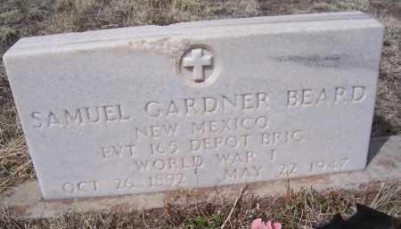 BEARD, SAMUEL GARDNER - Apache County, Arizona | SAMUEL GARDNER BEARD - Arizona Gravestone Photos