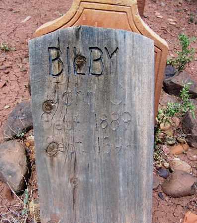 BILBY, JOHN C - Apache County, Arizona | JOHN C BILBY - Arizona Gravestone Photos