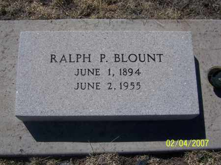 BLOUNT, RALPH P. - Apache County, Arizona | RALPH P. BLOUNT - Arizona Gravestone Photos