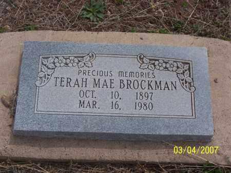 BROCKMAN, TERAH MAE - Apache County, Arizona   TERAH MAE BROCKMAN - Arizona Gravestone Photos