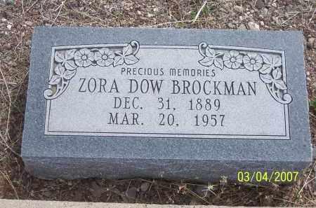BROCKMAN, ZORA - Apache County, Arizona | ZORA BROCKMAN - Arizona Gravestone Photos
