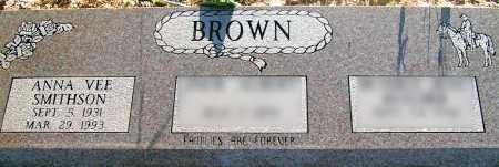 BROWN, ANNA VEE - Apache County, Arizona | ANNA VEE BROWN - Arizona Gravestone Photos