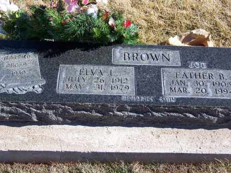 BROWN, ELVA L - Apache County, Arizona | ELVA L BROWN - Arizona Gravestone Photos