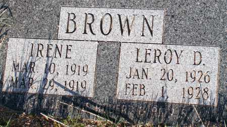 BROWN, IRENE - Apache County, Arizona | IRENE BROWN - Arizona Gravestone Photos