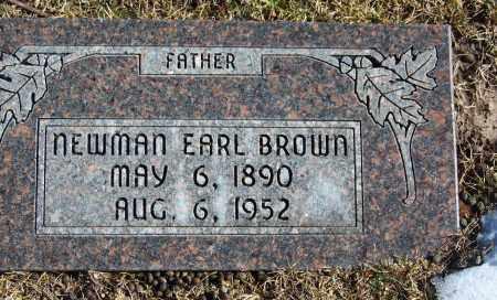 BROWN, NEWMAN EARL - Apache County, Arizona | NEWMAN EARL BROWN - Arizona Gravestone Photos