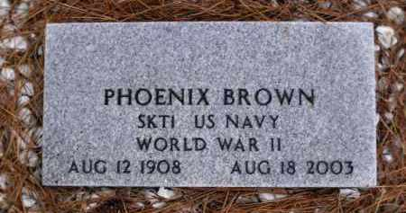 BROWN, PHOENIX - Apache County, Arizona | PHOENIX BROWN - Arizona Gravestone Photos