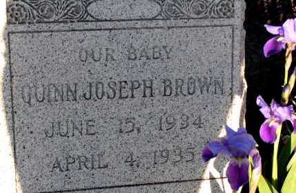 BROWN, QUINN JOSEPH - Apache County, Arizona | QUINN JOSEPH BROWN - Arizona Gravestone Photos