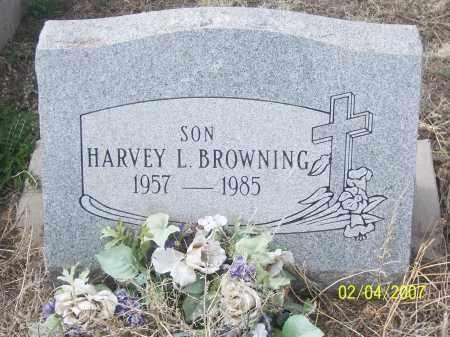 BROWNING, HARVEY L. - Apache County, Arizona   HARVEY L. BROWNING - Arizona Gravestone Photos