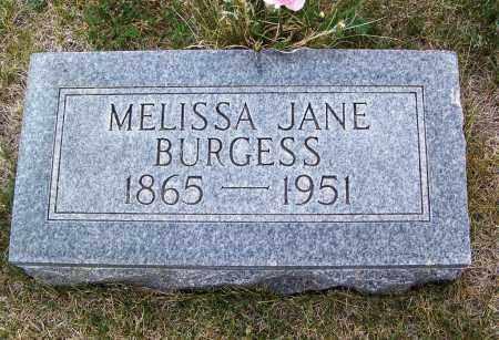 BURGESS, MELISSA JANE - Apache County, Arizona | MELISSA JANE BURGESS - Arizona Gravestone Photos