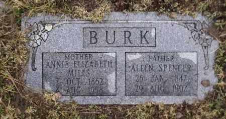 BURK, ANNIE ELIZABETH - Apache County, Arizona | ANNIE ELIZABETH BURK - Arizona Gravestone Photos
