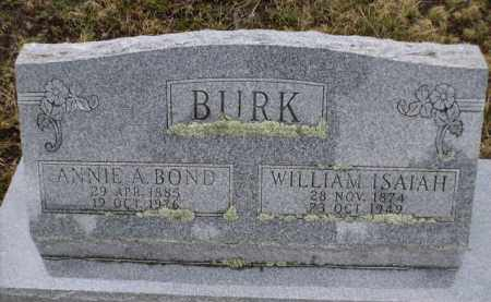 BURK, ANNIE A. - Apache County, Arizona | ANNIE A. BURK - Arizona Gravestone Photos