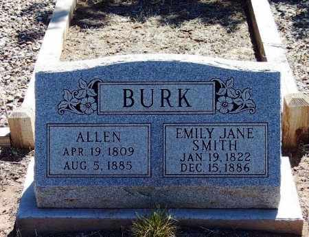 BURK, EMILY JANE - Apache County, Arizona | EMILY JANE BURK - Arizona Gravestone Photos