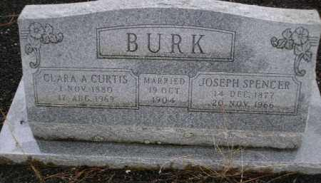 BURK, JOSEPH SPENCER - Apache County, Arizona | JOSEPH SPENCER BURK - Arizona Gravestone Photos