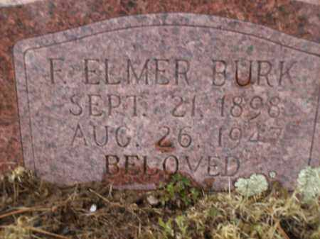BURK, F. ELMER - Apache County, Arizona   F. ELMER BURK - Arizona Gravestone Photos