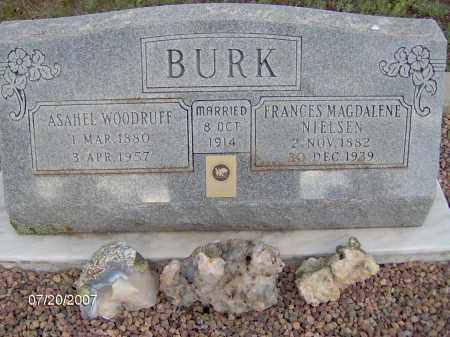 BURK, FRANCES MAGDELENE - Apache County, Arizona | FRANCES MAGDELENE BURK - Arizona Gravestone Photos
