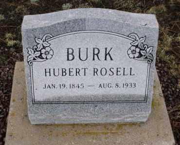 BURK, HUBERT ROSELL - Apache County, Arizona | HUBERT ROSELL BURK - Arizona Gravestone Photos