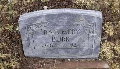 BURK, IRA EMERY - Apache County, Arizona | IRA EMERY BURK - Arizona Gravestone Photos