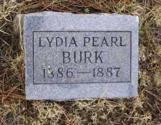 BURK, LYDIA PEARL - Apache County, Arizona | LYDIA PEARL BURK - Arizona Gravestone Photos