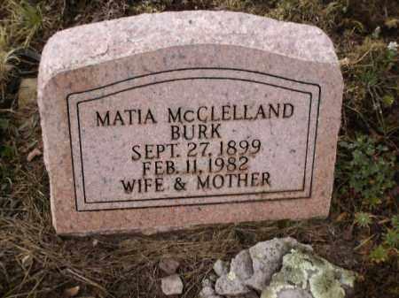 BURK, MATIA - Apache County, Arizona | MATIA BURK - Arizona Gravestone Photos