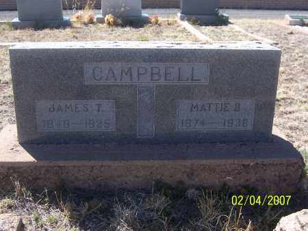 CAMPBELL, MATTIE B. - Apache County, Arizona | MATTIE B. CAMPBELL - Arizona Gravestone Photos