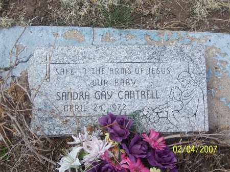 CANTRELL, SANDRA GAY - Apache County, Arizona | SANDRA GAY CANTRELL - Arizona Gravestone Photos