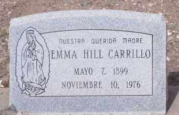 HILL CARRILLO, EMMA - Apache County, Arizona | EMMA HILL CARRILLO - Arizona Gravestone Photos