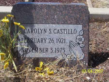 CASTILLO, CAROLYN S. - Apache County, Arizona | CAROLYN S. CASTILLO - Arizona Gravestone Photos