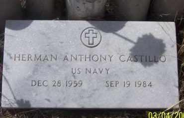 CASTILLO, HERMAN ANTHONY - Apache County, Arizona   HERMAN ANTHONY CASTILLO - Arizona Gravestone Photos