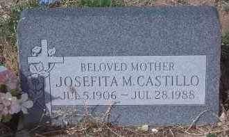 CASTILLO, JOSEFITA M. - Apache County, Arizona | JOSEFITA M. CASTILLO - Arizona Gravestone Photos