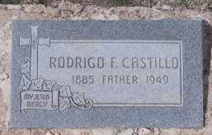 CASTILLO, RODRIGO F. - Apache County, Arizona | RODRIGO F. CASTILLO - Arizona Gravestone Photos