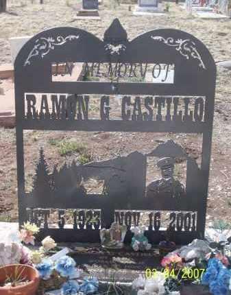 CASTILLO, RAMON G - Apache County, Arizona | RAMON G CASTILLO - Arizona Gravestone Photos
