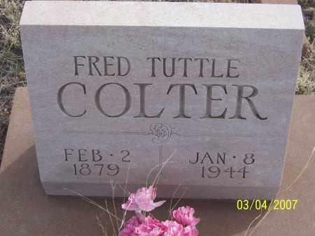 COLTER, FRED TUTTLE - Apache County, Arizona | FRED TUTTLE COLTER - Arizona Gravestone Photos