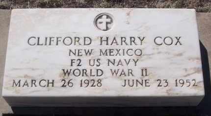 COX, CLIFFORD HARRY - Apache County, Arizona | CLIFFORD HARRY COX - Arizona Gravestone Photos