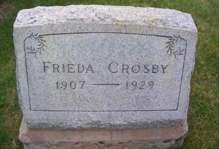CROSBY, FRIEDA - Apache County, Arizona | FRIEDA CROSBY - Arizona Gravestone Photos