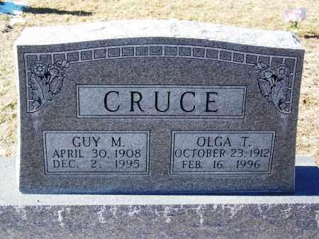 CRUCE, GUY M - Apache County, Arizona | GUY M CRUCE - Arizona Gravestone Photos